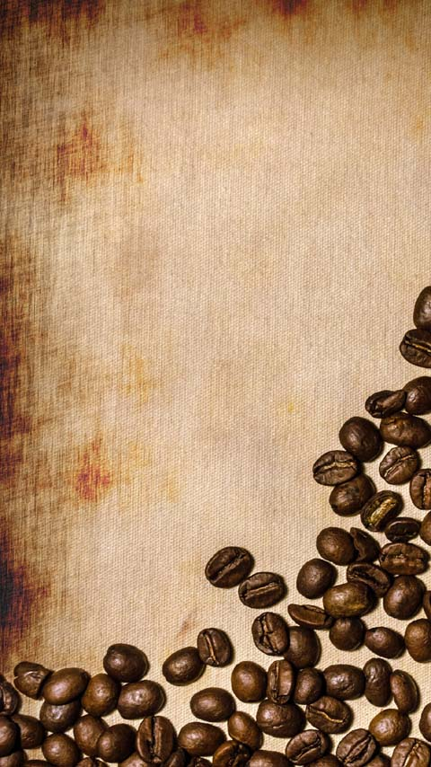 coffee beans brown wallpaper background phone