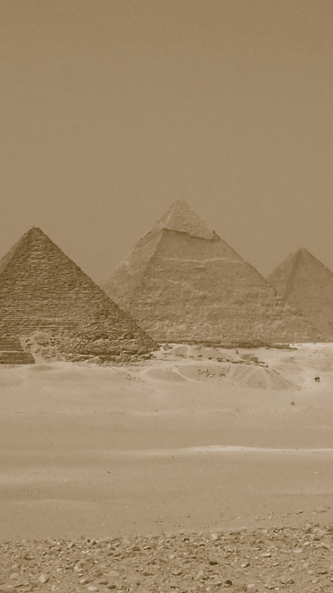 Giza pyramids Egypt Egyptian brown wallpaper background phone