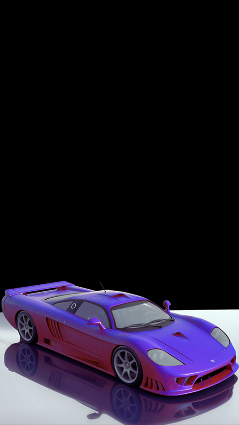 paramagnetic paint sports car purple wallpaper background phone