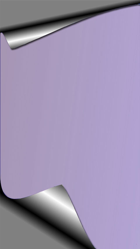 corner peeling foil purple silver wallpaper phone background