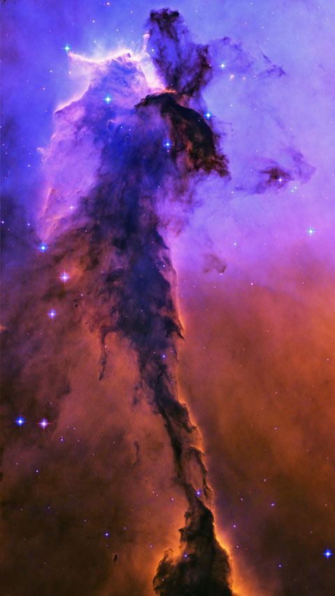 Horsehead Nebula space stars galaxy wallpaper phone background