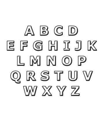 ABC color the alphabet free printable worksheet preschool kindergarten